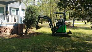 Landscape construction by Vets 4 U Landscaping, LLC.